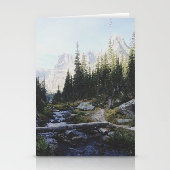 Rocky Mountain Creek Stationery Cards