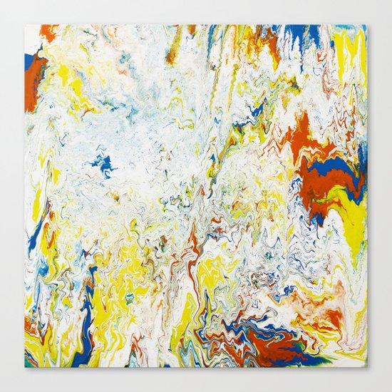 Gravity Painting 24 Canvas Print