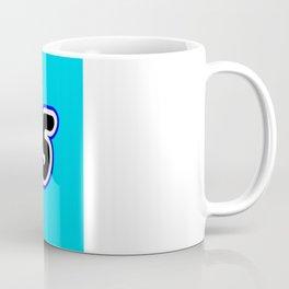 7965 [MILLENIUM FALCON] in Brick Font Logo Design [Alternate Colors] by Chillee Wilson Coffee Mug