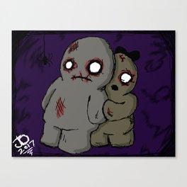 Belated Halloween Piece Canvas Print