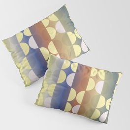 Classic Polka Dots with Bold Blended Hues Pillow Sham