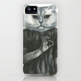 Cat Child iPhone Case