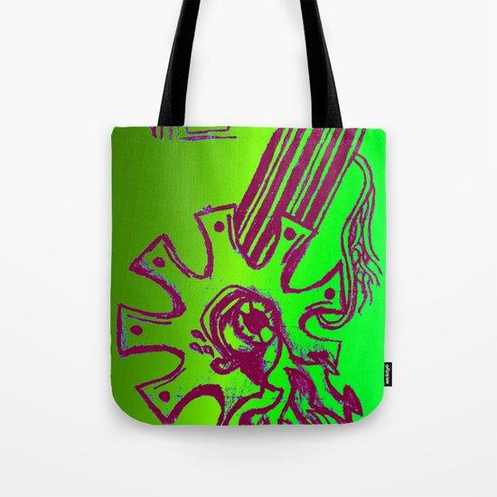Simplistic Alien Tote Bag