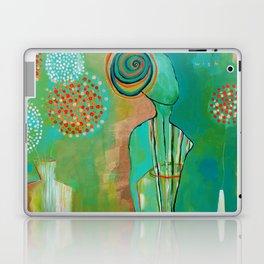 """Wish Believe"" Original Painting by Flora Bowley Laptop & iPad Skin"
