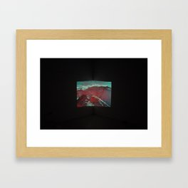 Untitled (Aiguille Rouge 2) Framed Art Print