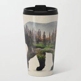 The North American Black Bear Travel Mug