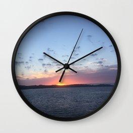 Ocean sky Wall Clock