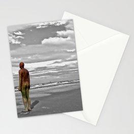 Gormleys Iron Man (Digital Art) Stationery Cards