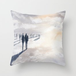 Not Untitled Throw Pillow