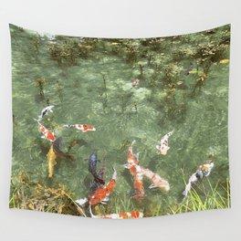japanese carp Wall Tapestry
