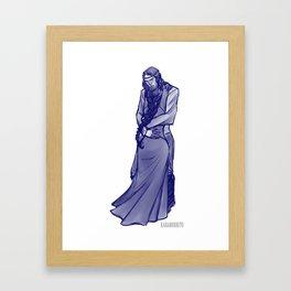 Lan and Nynaeve Sketch Framed Art Print