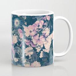 Floral Nights Space Dreams Coffee Mug