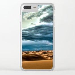 California's Desert Clear iPhone Case