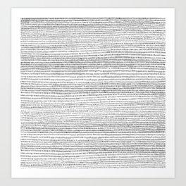 A.M. Art Print