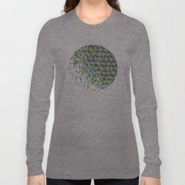 Funfetti Circle Long Sleeve T-shirt