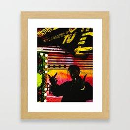Long Live ASAP Rocky Testing Framed Art Print