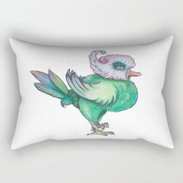 busy strutting bird Rectangular Pillow