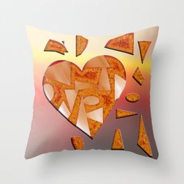 The power of love ... Throw Pillow
