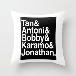 queer eye(name) Throw Pillow