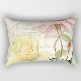 Florabella IV Rectangular Pillow