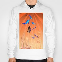 under the sea Hoodies featuring Under The Sea by Robin Curtiss