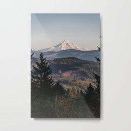 PNW Mount Hood Adventure II Metal Print