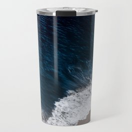 Deep blue shore Travel Mug