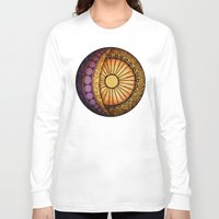 sun and moon Long Sleeve T-shirts featuring Sun and Moon by Alohalani