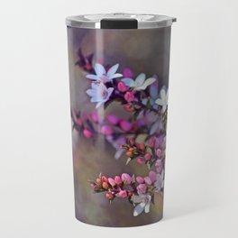 Australian Box Leaf Waxflowers Travel Mug