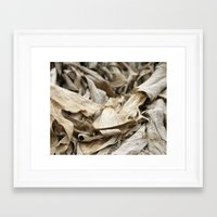 mineral Framed Art Prints featuring Mineral by Express Yourself