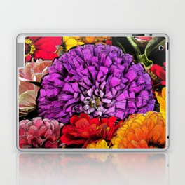 Power Flowers Laptop & iPad Skin
