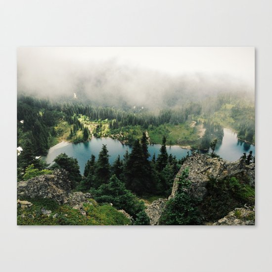 Rainier Eunice Lake Canvas Print