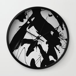 Abstract & Minimalist Black and white Wall Clock