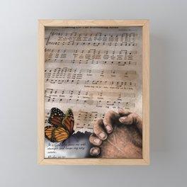 His everlasting arms Framed Mini Art Print