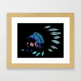 Geronimo's Head Framed Art Print