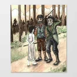 Tzeitel and the Woods, No. 53 Canvas Print