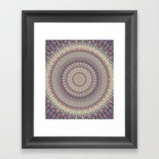 Mandala 537 Framed Art Print