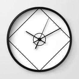 Closed Circle Wall Clock