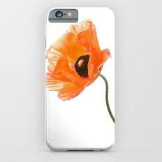poppy flower IV iPhone 6 Slim Case