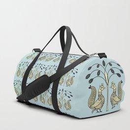 Ethic Art Indian Ducks with tree Duffle Bag