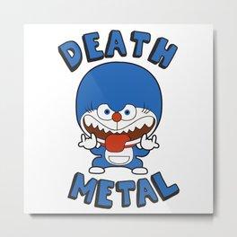 Death Metal Mon Metal Print