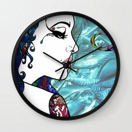 Circus Princess Wall Clock