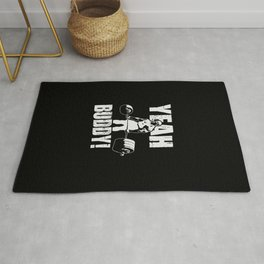 YEAH BUDDY (Ronnie Coleman) Rug