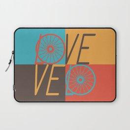Love velo - velo love; cycling design Laptop Sleeve