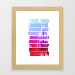 Telly Framed Art Print