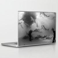 tigers Laptop & iPad Skins featuring Tigers & Lemons by Elijah Woolery