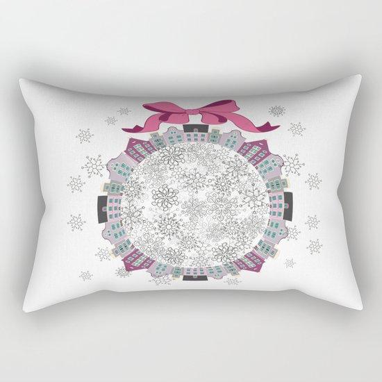 Christmas Town Rectangular Pillow