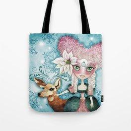 Noelle's Winter Magic Tote Bag