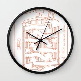 Intake Wall Clock