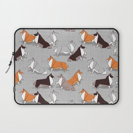 Origami Collie doggie friends Laptop Sleeve